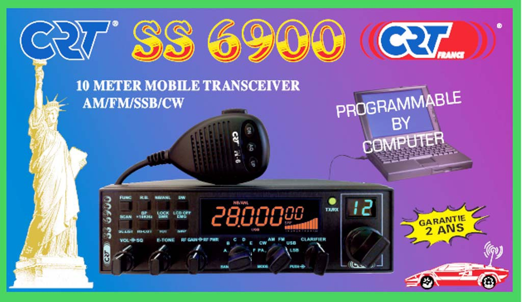 CB CRT Superstar 6900