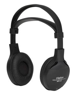 CLARION WH253H CASQUE AUDIO SANS FIL INFRAROUGE DOUBLE CANAUX