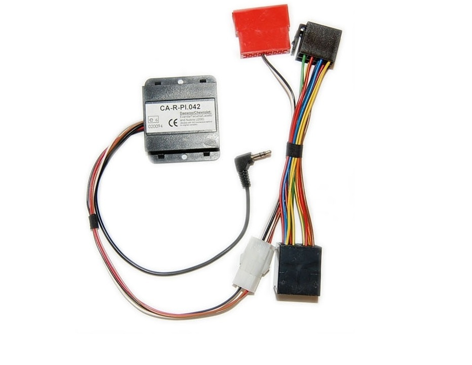 PIONEER INTERFACE CA-R-PI.042 COMMANDE AU VOLANT CHEVROLET KALOS 09/2002->08/2007 Broches Rondes