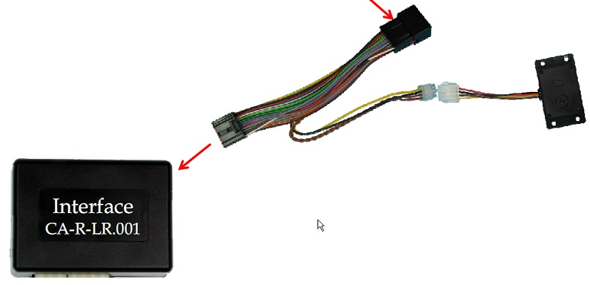 PIONEER INTERFACE CA-P-LR.001 COMMANDE AU VOLANT LAND ROVER Freelander II ->2006